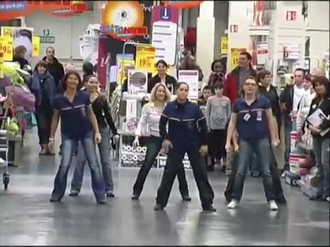 flashmob castorama la rochelle youtube. Black Bedroom Furniture Sets. Home Design Ideas