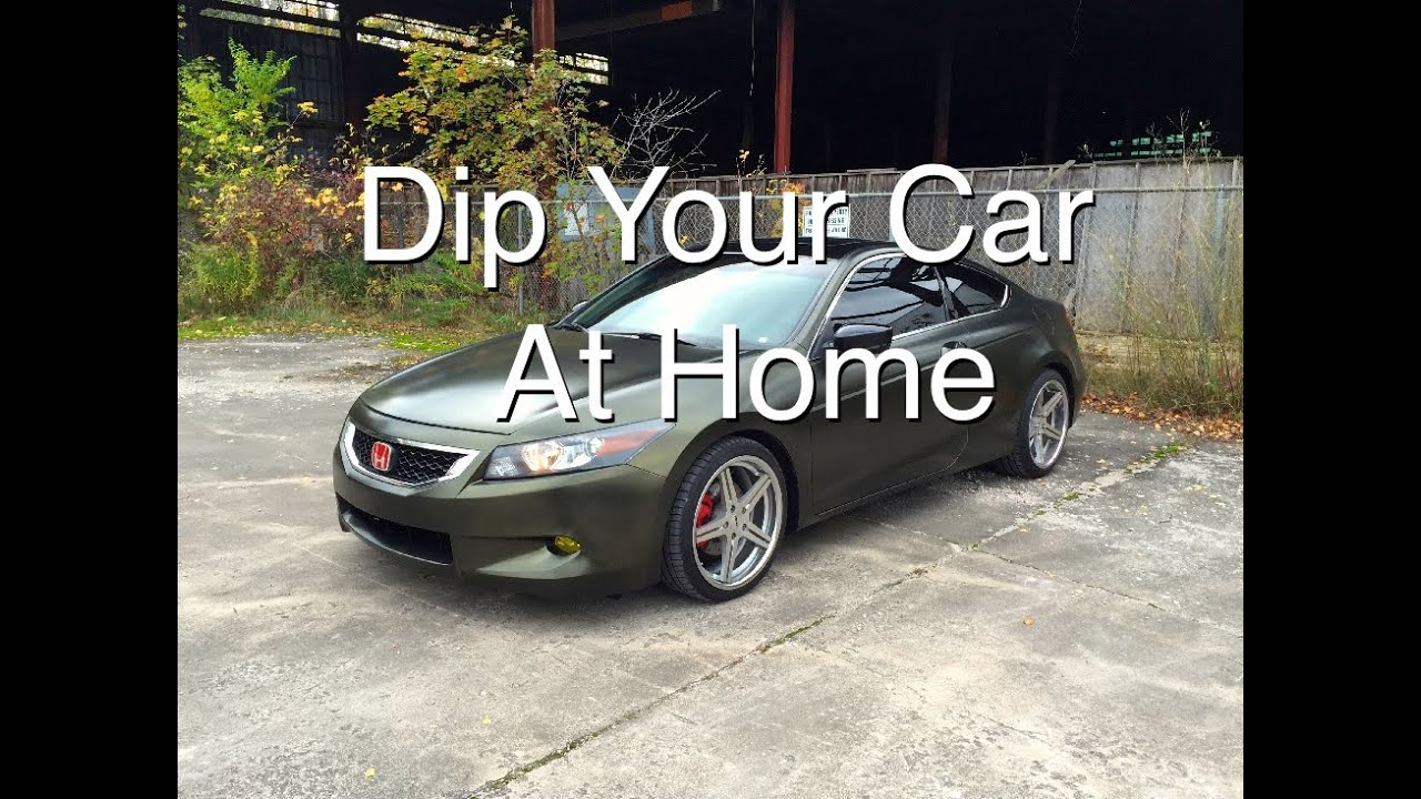 How to dip your car at home part 2 youtube solutioingenieria Image collections