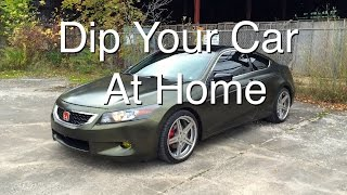 How to Dip Your Car at Home (Part 2)