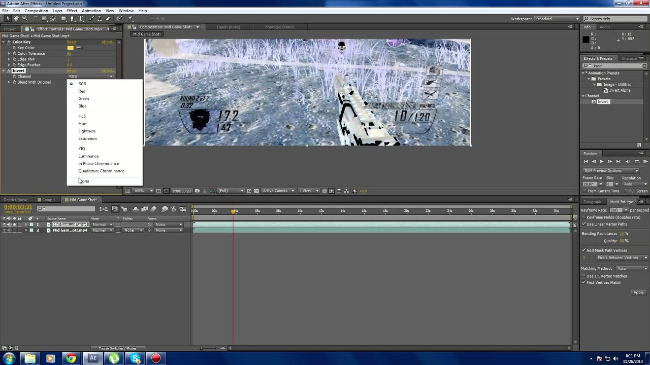 How To Change Color Of Gun Camos  Black Ops 2  After Effects  Hd