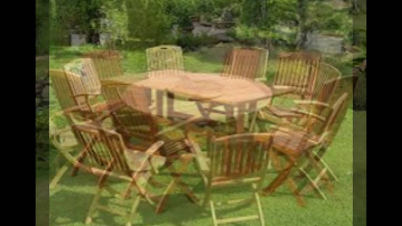 Outdoor teak furniture in america