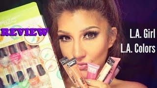 RESEñA /REVIEW '゚・✿L.A Girl cosmetics y L.A. Colors 。✿*゚