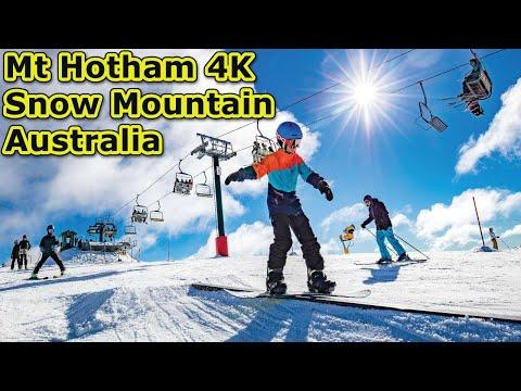 Mount Hotham - Snow Mountain Australia in Stunning UltraHD (4K)