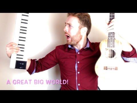 Say Something - A Great Big World (Ukulele Tutorial)