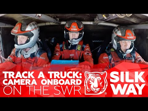 Need for monster speed: how the SWR routes look from the truck cab | Silk Way Rally 2020 🌏