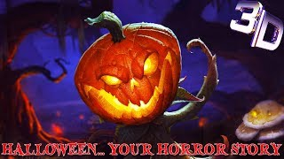 SONY VEGAS INTRO TEMPLATE - 3D Halloween... Your Horror Story (Free Download)