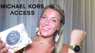 Michael Kors Access Smart Watch Unboxing, Set Up, and Tutorial | Carson Keegen