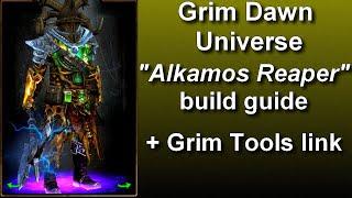 "Grim Dawn FG  ""Cold Alkamos Reaper"" build guide"