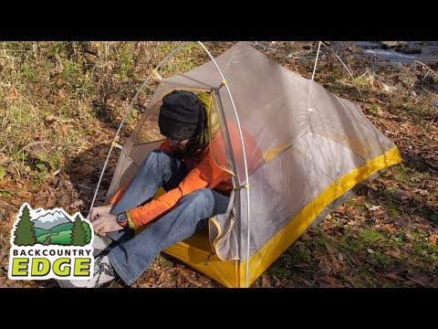 Big Agnes Fly Creek HV UL 1 Tent & Big Agnes Fly Creek HV UL 1 Tent - YouTube
