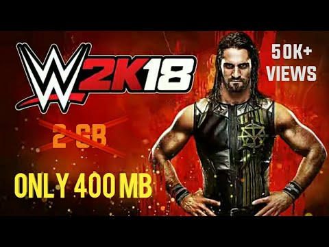 (400 Mb) How To Download/play WWe 2k 18 PSP Game Android For Free (Tamil)