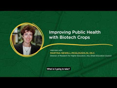 Improving the Nutritional Value of Crops: Interview Dr. Martina Newell-McGloughlin