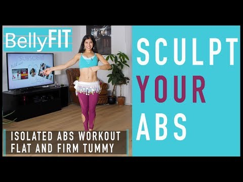 Isolated Abs and Core | Bellydance Workout For All Levels