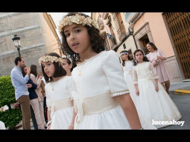 Vídeo: Procesión del Corpus Christi en Lucena 2016