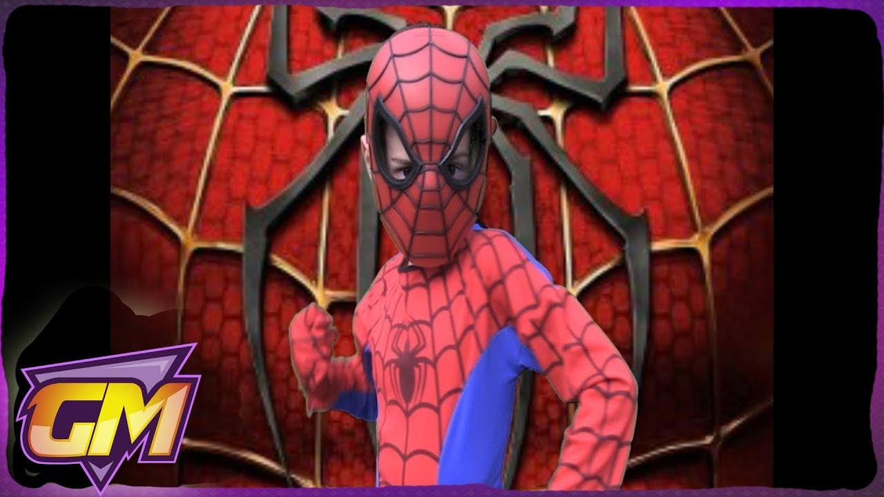 Amazing Spiderman Parody Kids Version Of Mmm Yeah YouTube - Awesome video baby spiderman dancing