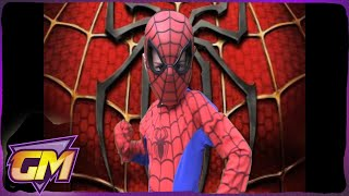 One of Gorgeous Movies's most viewed videos: Amazing Spiderman Parody: Kids version of Mmm Yeah