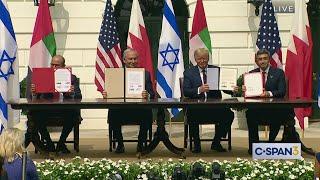 White House Abraham Accords Signing Ceremony