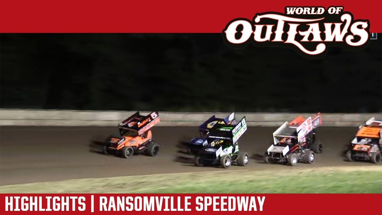 world-of-outlaws-craftsman-sprint-cars-ransomville-speedway-july-27-2018-highlights