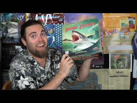 Shark Island – Board Game Review