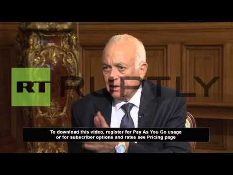 "Russia: ""No room"" for Assad in Syria, says Arab League chief"
