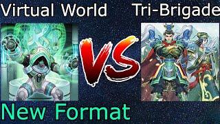 ☆Giveaway☆ + Virtual World Vs Tri-Brigade Zoodiac Post BODE Yu-Gi-Oh! 2021