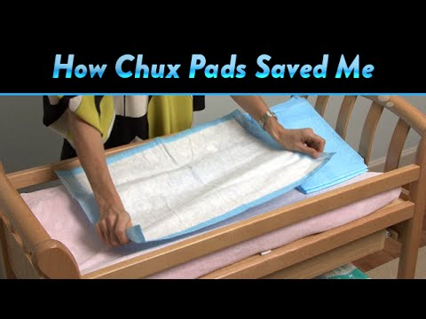 How Chux Pads Saved Me | CloudMom   YouTube