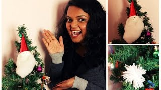 DIY Christmas decor and putting up the Christmas tree! Thumbnail