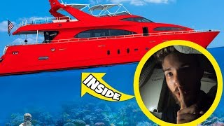 HIDE AND SEEK IN A YACHT IN THE OCEAN!!