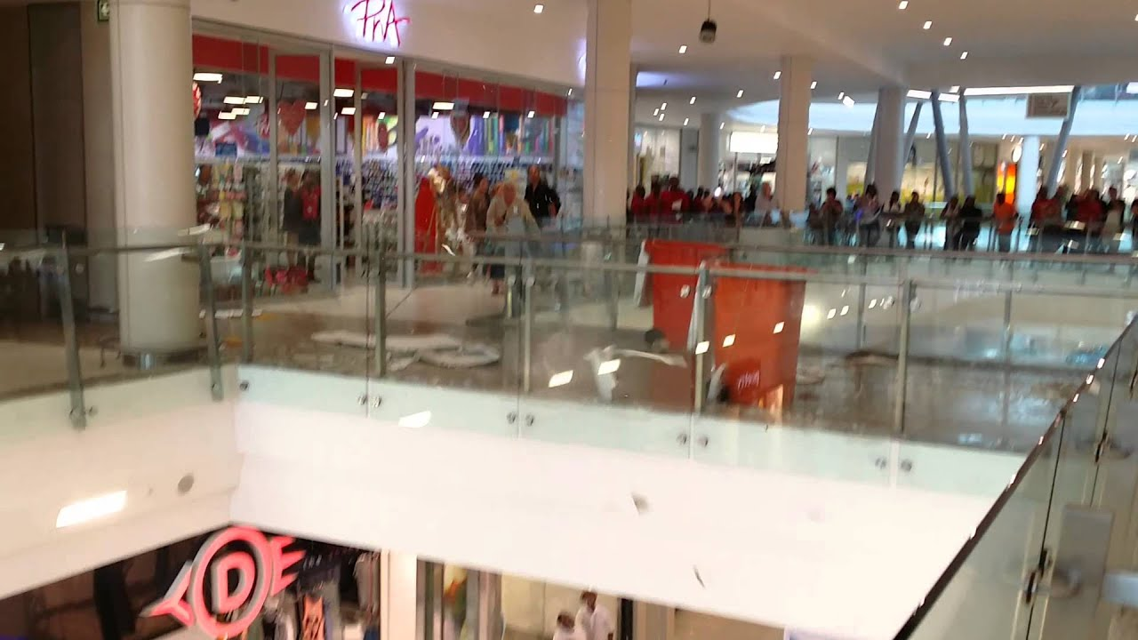 Cradlestone Mall Ceiling Collapse