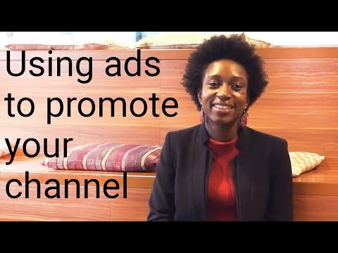 Advertising your channel - YouTube