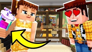 Minecraft Toy Story - Gabby Gabby Uses A Love Potion On Woody! [12]