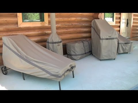 Hickory Series Patio Furniture Covers By Classic Accessories Youtube