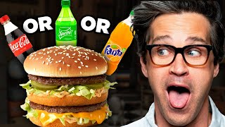 What's The Best Soda With A Big Mac? (Taste Test)