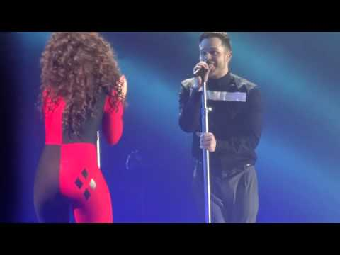Olly Murs ft Ella Eyre - Up - Sheffield Arena 2015.