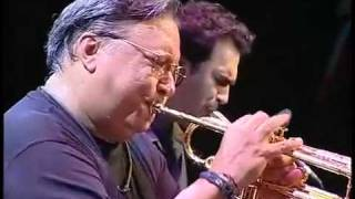 Arturo Sandoval in concert during tour in Spain, San Javier. 2008 F...