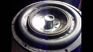 15'' Bs5 Subwoofer Tests excursion