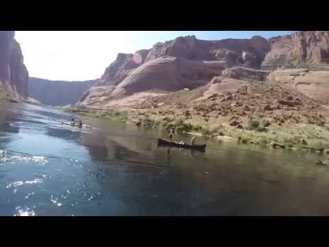 Kayaking  the Colorado River from Paige, AZ to Lee
