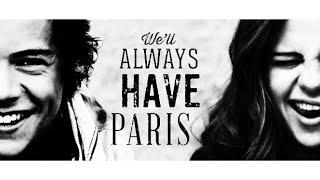 """harry styles + selena gomez ✈ """"we"""