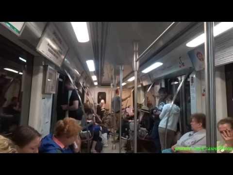 Метро в Варшаве, Центрум - Кабаты / Metro w Warszawie, Centrum - Kabaty