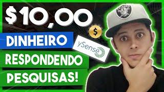 YSENSE - Como Ganhar Dinheiro com Ysense 2021 | Pesquisas Pagas | Renda Extra Online