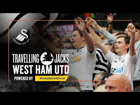 Travelling Jacks: West Ham v Swansea | Behind the Scenes at London Stadium