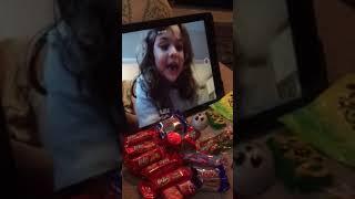 Mia making YouTube vids - part 3, 11.6.17