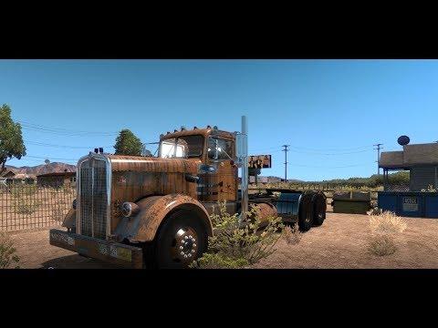 "American Truck Simulator Kenworth 521 50's Fruehauf Tanker ""Duel"""
