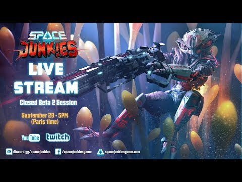 Space Junkies: STREAM  Closed Beta 2 Session  Ubisoft NA