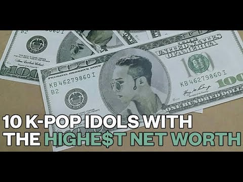 10 K-Pop Idols with the Highest Net Worth