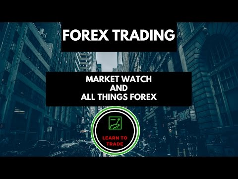 Forex pair not on market watch
