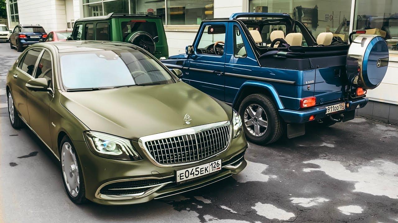 ГЕЛИК КУПЕ КАБРИК V8?! Военный МАЙБАХ! В гостях у TOPCAR. Mercedes-Maybach. G-Class. G 500 Coupe.