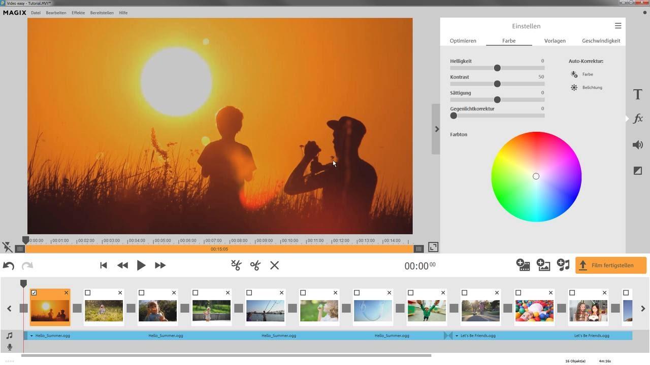 MAGIX Video easy HD, télécharger gratuitement. MAGIX Video easy HD: MAGIX Video easy HD est le programme idéal pour les débutants : l'interface clairement disposé, nombreuses fonctions d'aide et de nombreux assistants pratiques transformera vos enregistrements en films inoubliables en un temps record.