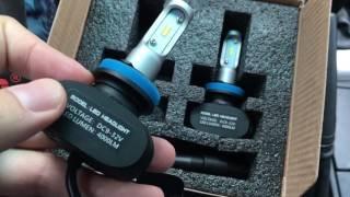 Обзор светодиодной OSLAMP LED лампы H11
