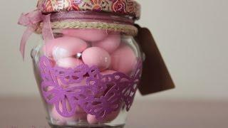 DIY: bote de caramelos/ Candy bottle