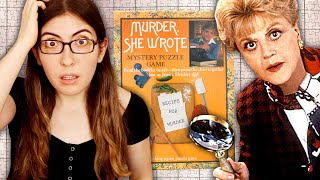 "Doing a vintage ""Murder Sнe Wrote"" jigsaw puzzle (Can you solve the mystery?)"